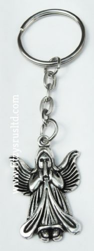 Holy Sacred Angel Keyring Religious Messenger of God Key Ring Gift